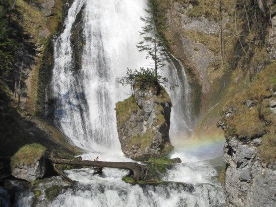 Palfau, Oostenrijk: rainbow