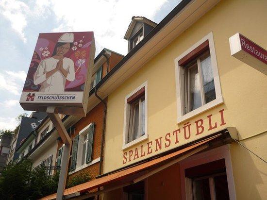 Restaurant Spalenstuebli: Restaurant Aussenansicht Friedrichstrasse 25