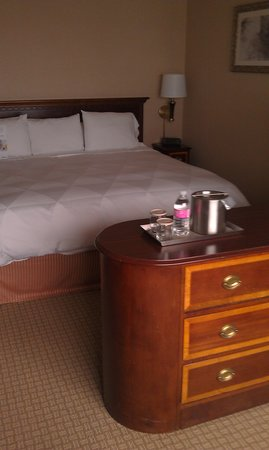 Radisson Hotel Seattle Airport: nice comfy bed!