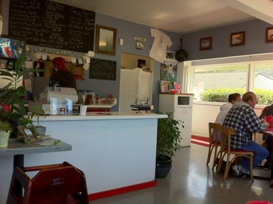 J's Fish & Chips: Clean, small, friendly owners, excellent food, so-so prices (costs more for extra sides of sauce