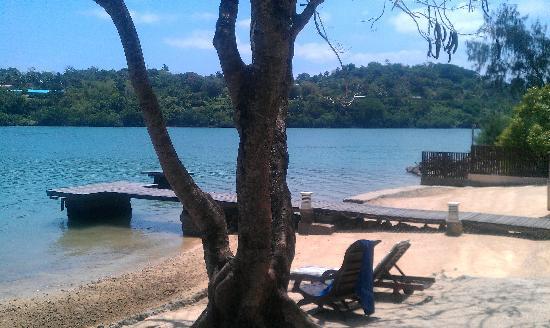 Fatumaru Lodge: The waterfront
