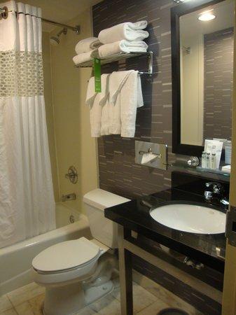 Hampton Inn Manhattan-Chelsea: Very clean bathroom