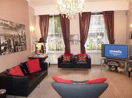 โรงแรมอาโรสฟา: Loungeroom
