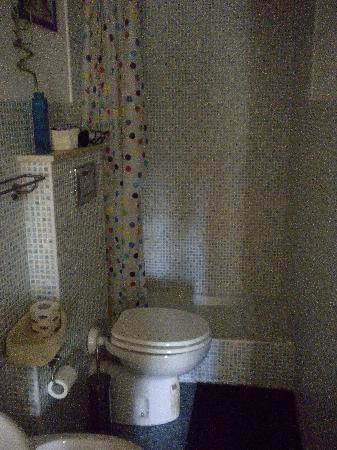I Prati di Roma: bagno camera girasoli