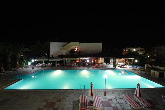 ‪‪Hotel Iris‬: The pool at night‬