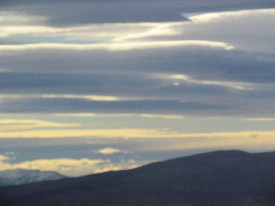 Torres del Paine National Park: Vista do crepúscula numa área de pradaria