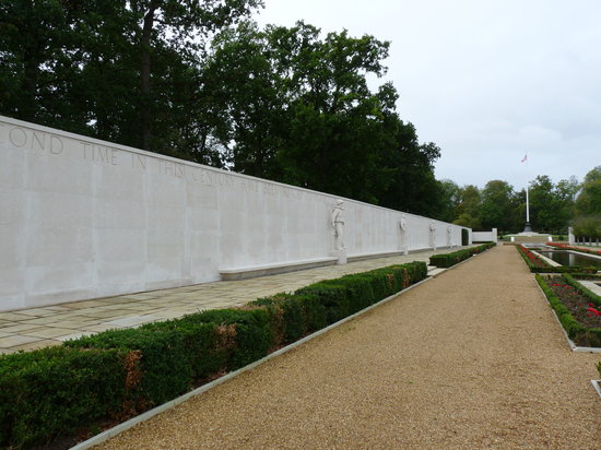 Cambridge American Cemetery and Memorial: Wall of the Missing