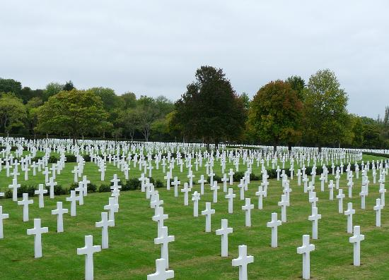 Cambridge American Cemetery and Memorial: The cemetery