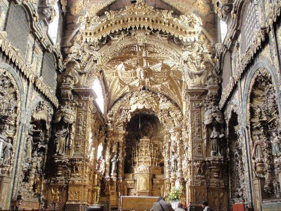 Church of Santa Clara (Igreja de Santa Clara) : INTERIOR IGLESIA DE SANTA CLARA