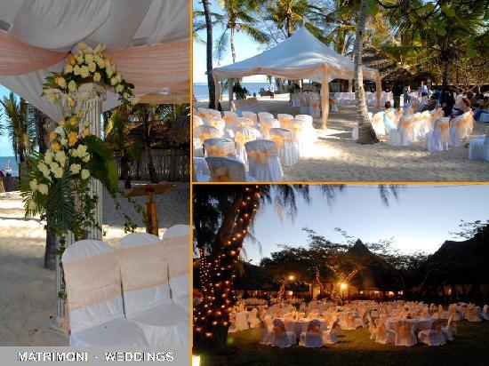 Kilili Baharini Resort & Spa: Weddings