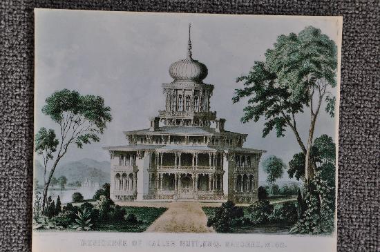 Natchez, Mississippi: Alte Zeichnung