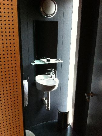 Hotel Palafitte: Le WC séparé