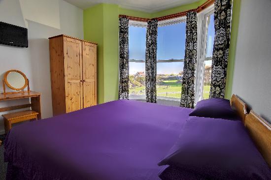 Hotel Sunnyside Newquay: Double sea view room