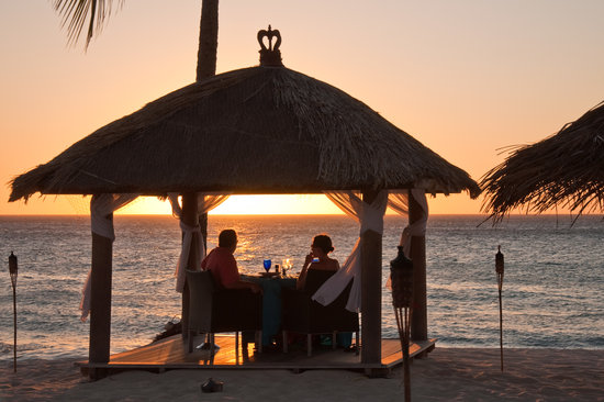 Bucuti & Tara Beach Resort Aruba: Romatic Dinner