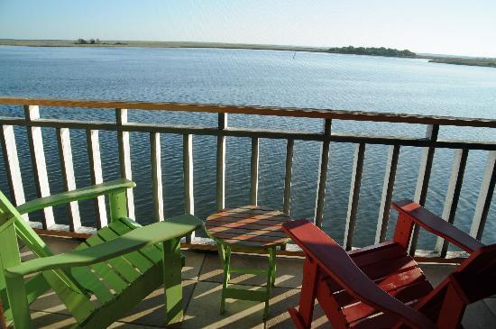 Apalachicola River Inn: Aussicht vom Zimmer