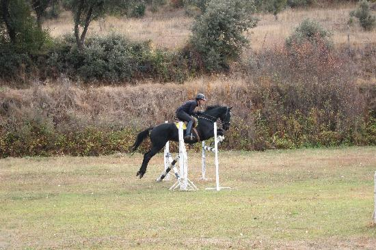 Molino de la Umbria: Jumping with Orio