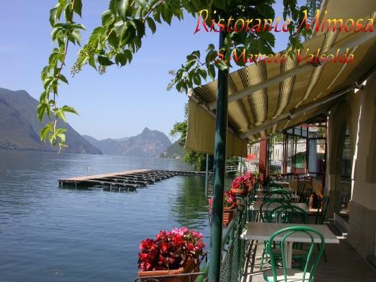 San Mamete Valsolda, Italien: La Terrazza sul lago
