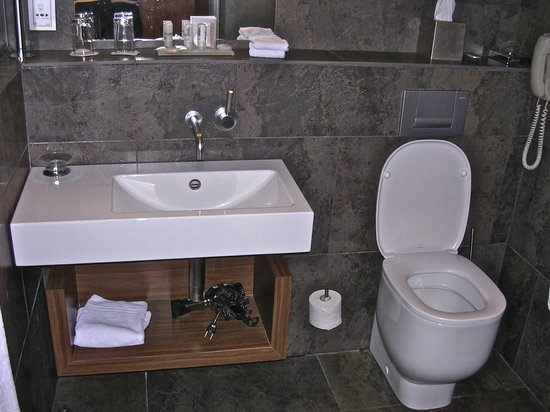 Le Meridien Barcelona: Chic bathroom