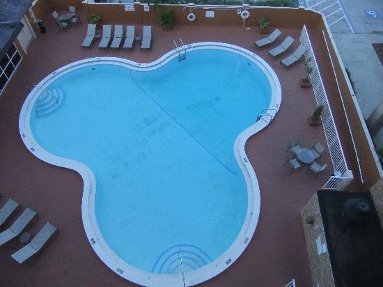Ramada Westshore Tampa Airport: dirty pool