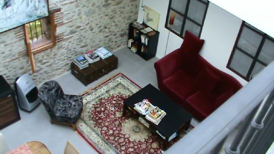 Le Chai Catalan: patio intérieur