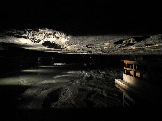Salzbergwerk Berchtesgaden: Underground Lake