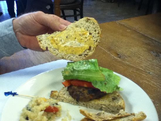 Cafe 107 : Turkey Burger