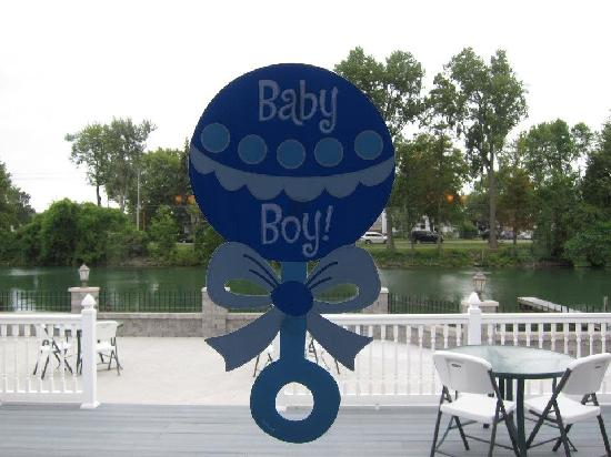 Michael's Landing Banquet Hall: baby shower