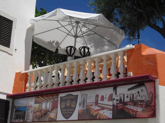 Restaurante Três Coroas: Vista