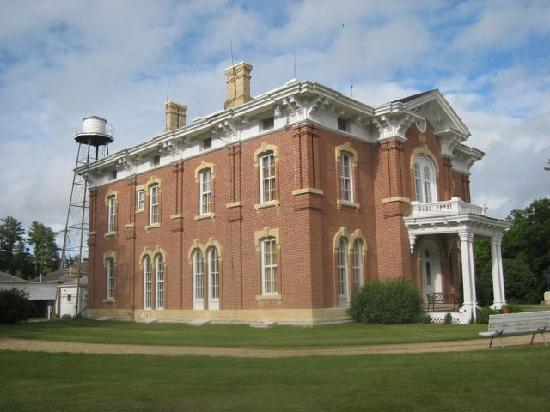 Montauk Historical Site: Showing the water tower and side of the mansion