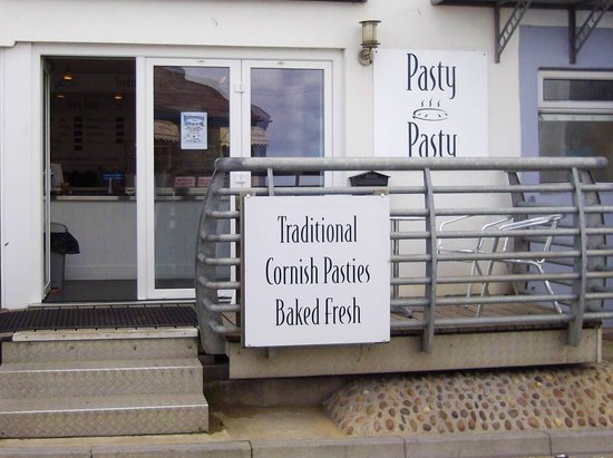 Pasty Pasty, New Quay.