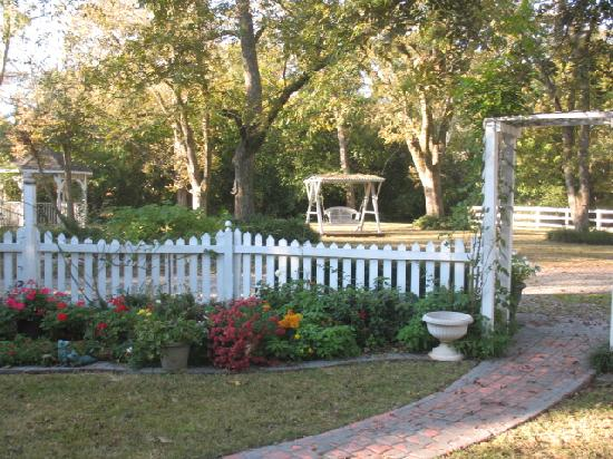 Antebellum Oaks Inn: beautiful fall day!