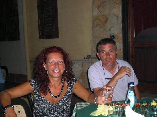 Trattoria Pizzeria Voscenza: io e mia moglie