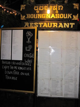 Boungnasouk Restaurant