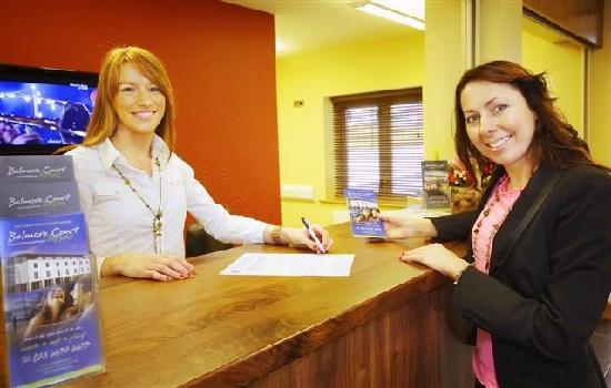 Belmore Court Motel: Belmore Court Check-in