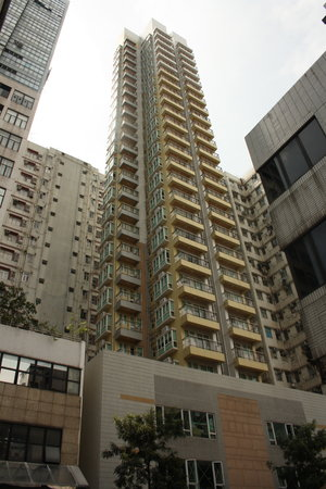 The Lodge Serviced Apartments: The exterior view of the building