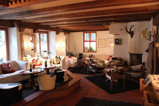 Romantik Hotel Julen: Hotel Lounge