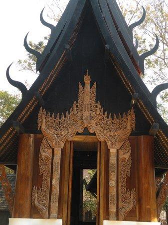 Det Sorte Hus – Baan Si Dum – Baandum-museet