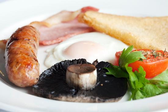 Virginia Court Hotel: Award winning breakfast with local produce
