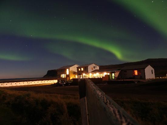 Breidavik Guesthouse: Mid-September 2011 - Northern Lights 2