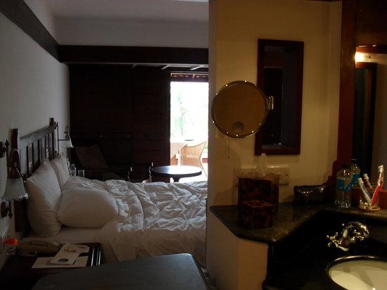 The Leela Kovalam Beach: my room