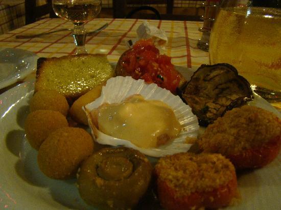 Hotel Ristorante Bellavista : antipasto buonissimo