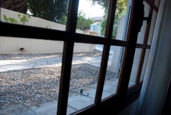 Hotel Les Capucines : Blick aus dem Zimmer