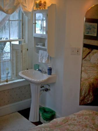 Nichols Guest House Bed and Breakfast: Sink in the room