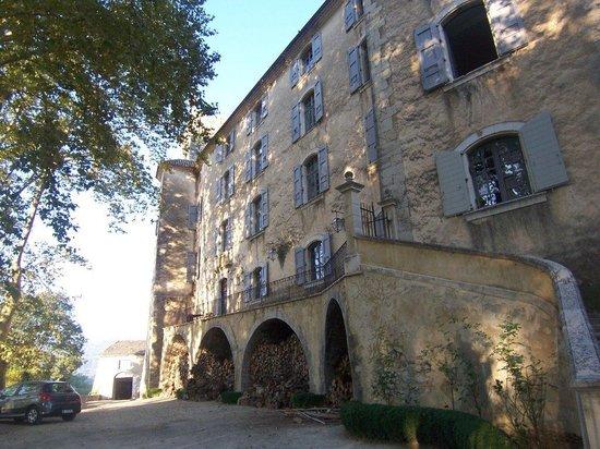 Chateau d'Esparron : Front of the Castle