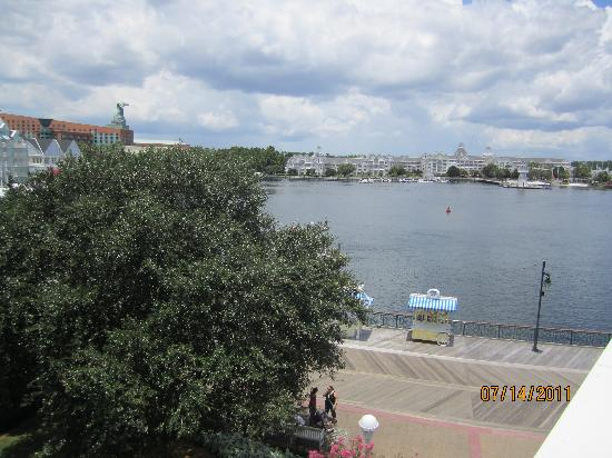 Disney's BoardWalk Inn: view from our room