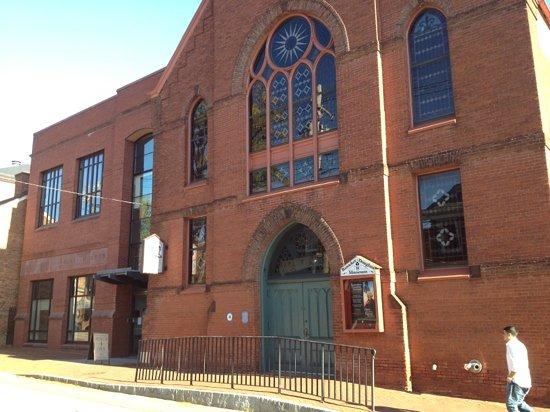 Banneker-Douglass Museum : Front entrance
