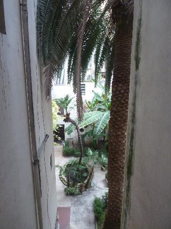 Casa di Goethe: Blick aus dem Fenster in den Hinterhof