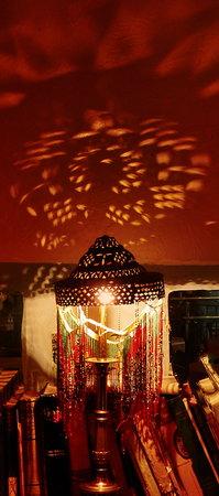 Algiers Coffee House: Bass Lamp Reflections