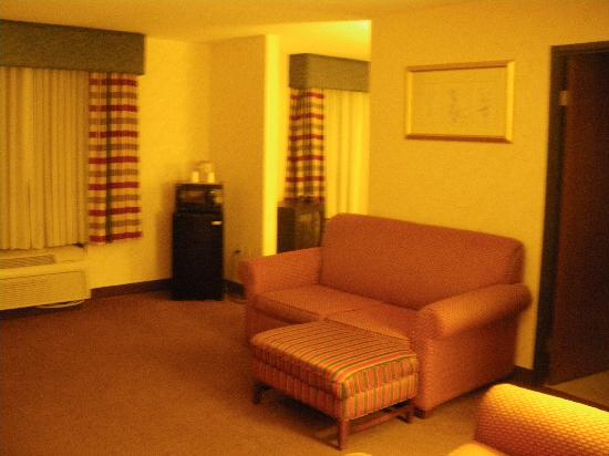 BEST WESTERN Royal Plaza Hotel & Trade Center: Our room