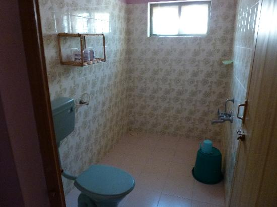 Varkala Villas: Unser Badezimmer